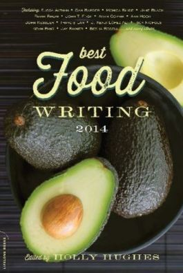 Best Food Writing Book Jacket