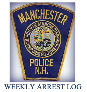 Weekly arrest log