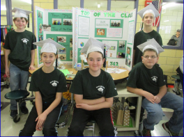 Hillside's FIRST Lego League team at NH/VT championships.