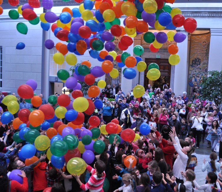 Celebrate'Noon Year's Eve' with the whole family at Currier Museum of Art.