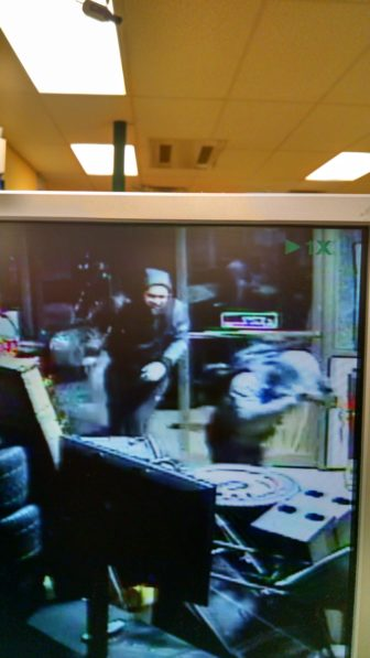 Second still image taken from surveillance cameras at Good Still Pawn Shop.