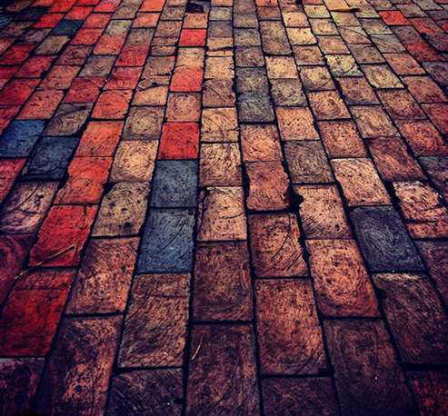 "Memorial HS junior Rachel Thibeault is a Gold and Silver Key winner for several photographs, including ""Bricks."""