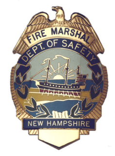 NH Fire Marshal emblem