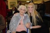 Proud mom, Marie Woodlock, with her daughter, author Laurielee Woodlock Roy.