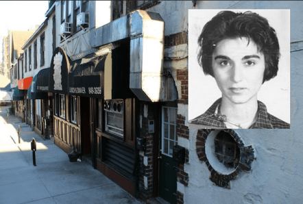 Kitty Genovese and bystander apathy.