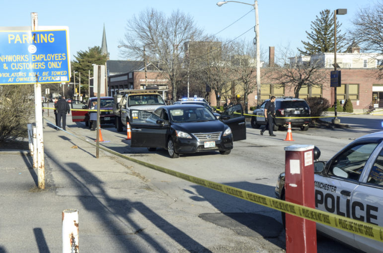 Police are investigating a shooting on Hanover Street Thursday morning.
