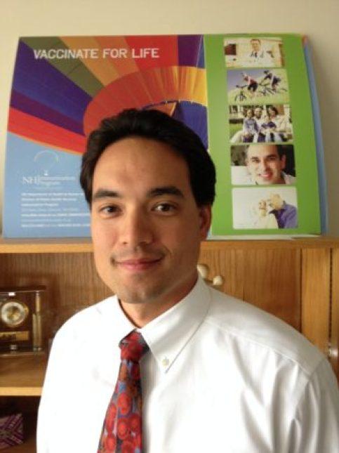 State Epidemiologist Dr. Benjamin Chan.