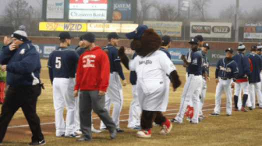 Fisher Cats win big on opening night against the Rock Cats.