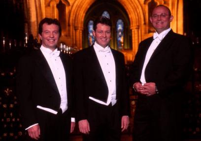 The Irish Tenors.