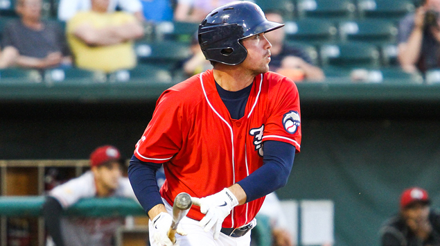 Jack Murphy's second home run on Tuesday lifted the Fisher Cats to victory.