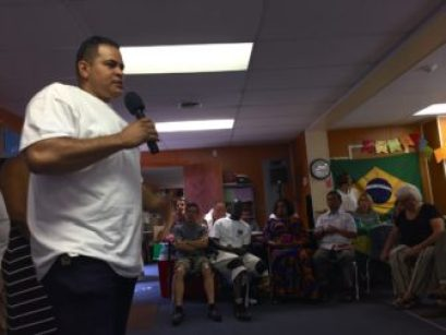 Nestor Gonzalez shares a few words introduces a video about the Dominican Republic.