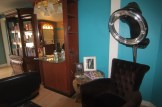 View inside the new salon on the city's West Side.