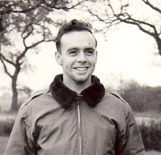 This is my dad William F. McQuade, he was a combat war veteran from WWII. He was a Ball Turret Gunner and I never found out about his service record until he passed. [Click to next slide for more on William McQuade...]