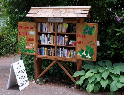 Library boxes are a growing trend in communities around the country.