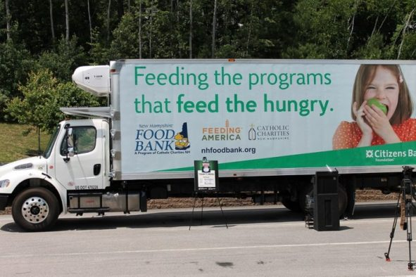 New refrigerated box truck, gifted to the NH Food Bank by Citizens Bank in June of 2015.