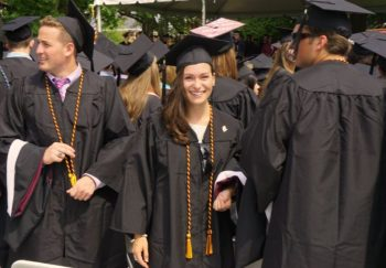Perl 3: My daughter, the grad.