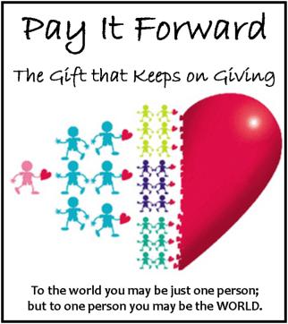Pay it Forward heart