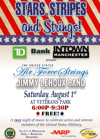 Get in on the musical salute to summer with the Jimmy Lehoux Band.