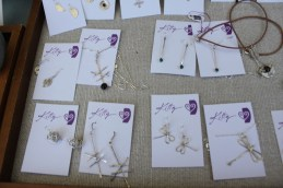 Handmade jewelry by Kitty Stoykovich.