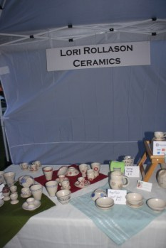 Lovely handmade ceramics by Lori Rollason.