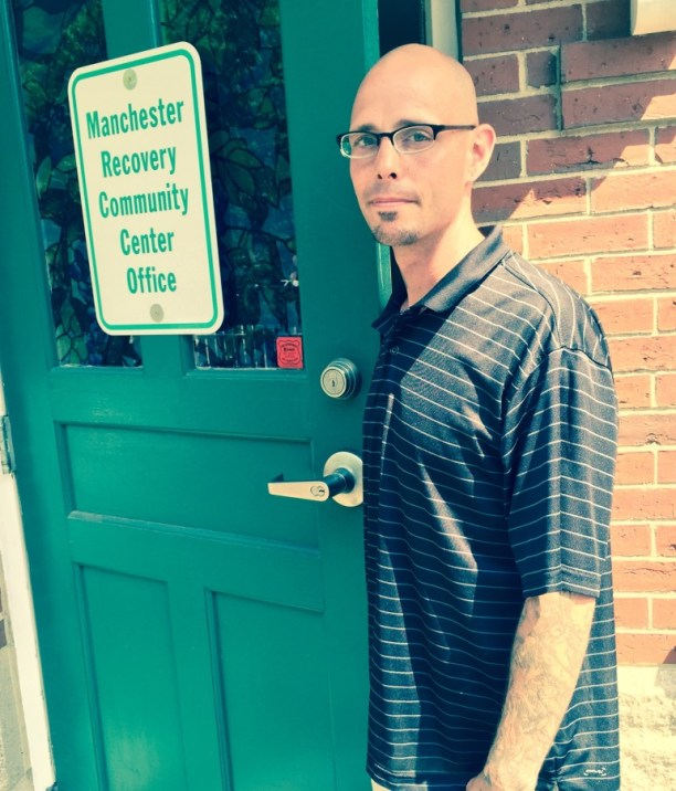 """Jonathan """"Frenchy"""" Bijeol, who feels lucky to have found Hope for NH Recovery."""