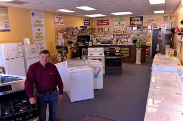Before you buy your next appliance, check out Glenn's - where sales and service go hand-in-hand.