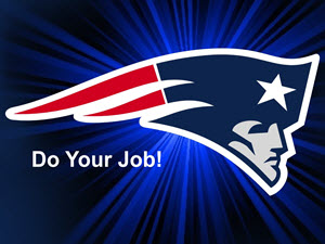 do your job pats