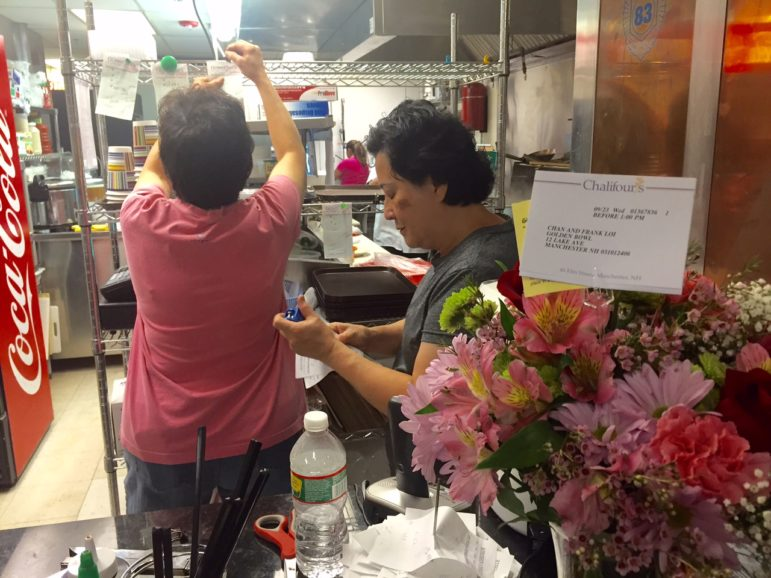 Business was bustling at Pho Golden Bowl, just reopened on Lake Avenue.