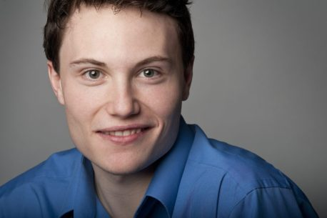 """UNH grad Nick Moulton and supporting cast member in """"The Buddy Holly Story."""""""