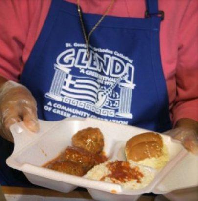 Greek meatballs in a secret Glendi tomato sauce