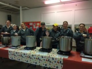 Soup was served by the SNHU Womens Lacrosse team