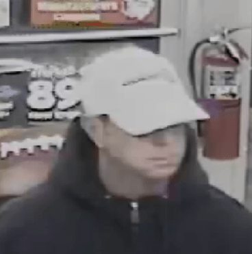 Man wanted in connection with robbery at South Willow Street gas station.