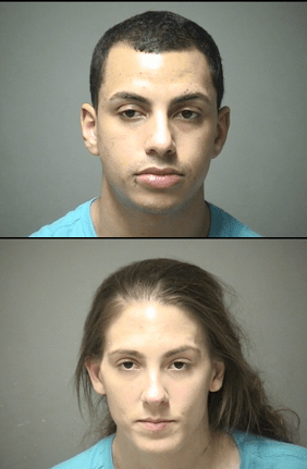 Richard Acker and Stephanie Desimore were arrested Jan. 3 on alleged drug possession charges.