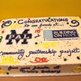 A celebration cake.