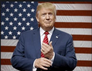 Donald John Trump, born during a lunar eclipse.