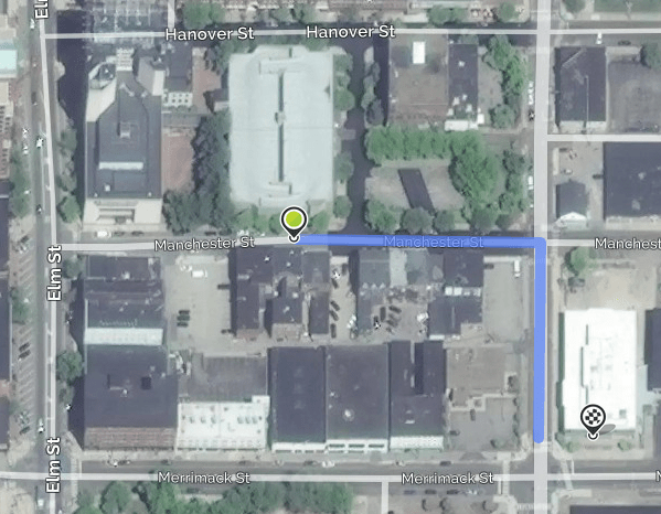 "Proximity of proposed ""Embrace"" intimate adult products store on Manchester Street, and the Zeal Movement church on Chestnut Street."
