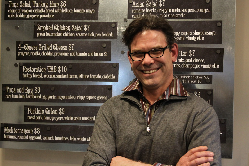 Grand opening April 1: Restaurateur Tom Puskarich hits his stride at Restoration Café