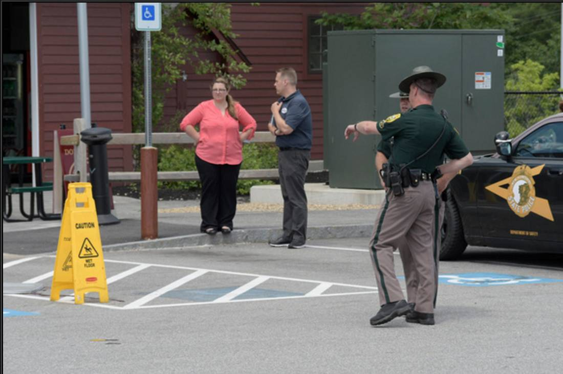 Man shoots, kills dog at Hooksett rest area