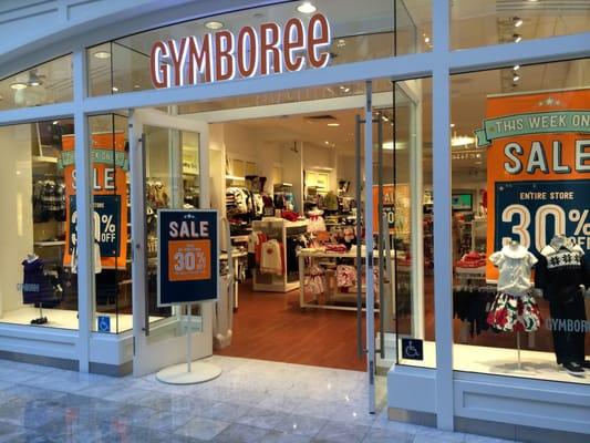 Gymboree closing at West Acres Mall