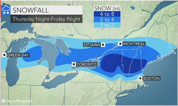Winter Weather: What to Expect Friday Night