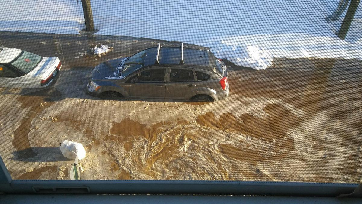 Act of God or municipal malfunction? Jan. 7 water main break leaves family carless