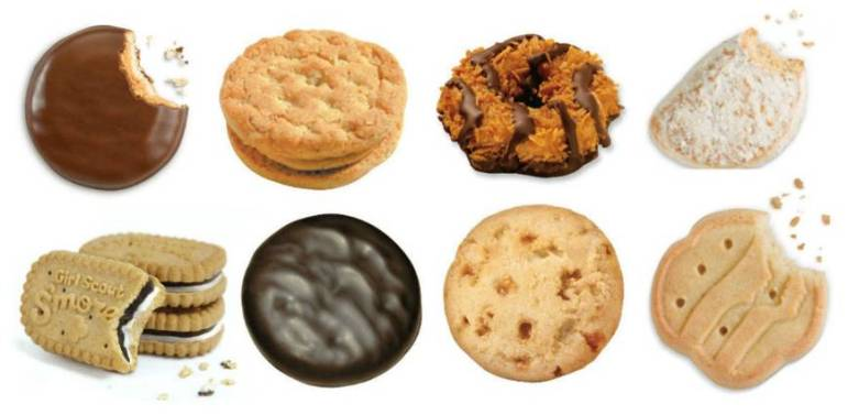 2018 girl scout cookie season kicks off with next century