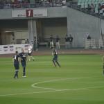 試合前の香川