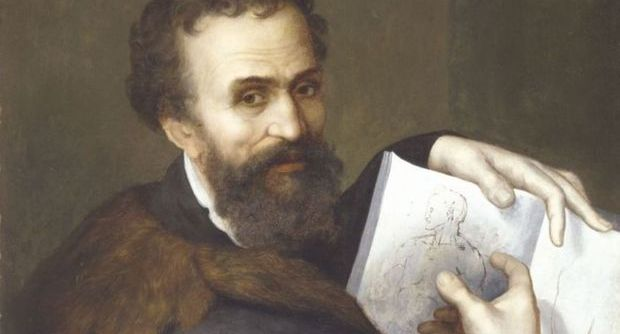 Michelangelo era mancino