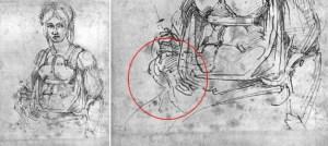 Disegno di Michelangelo