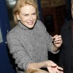 Nicole Kidman è mancina