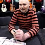 Billy Corgan degli Smashing Pumpkins è mancino