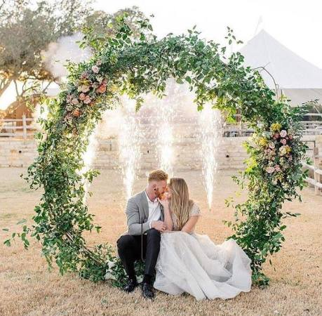 WEDDING ARCH RENTALS   Welcome to Mancino Wedding Arch Rentals     The Modern Circle Arch and Modern Octagon Arch are the newest additions to  our extensive Arch rental collection  and have quickly become our most  popular