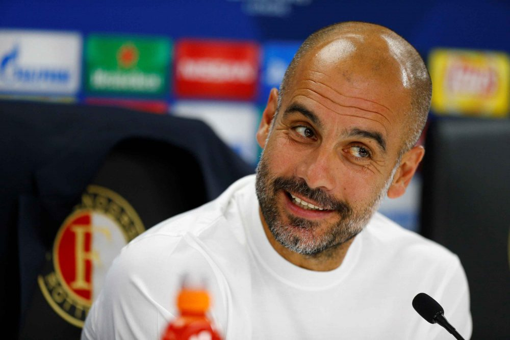 Pep Guardiola: City are improving