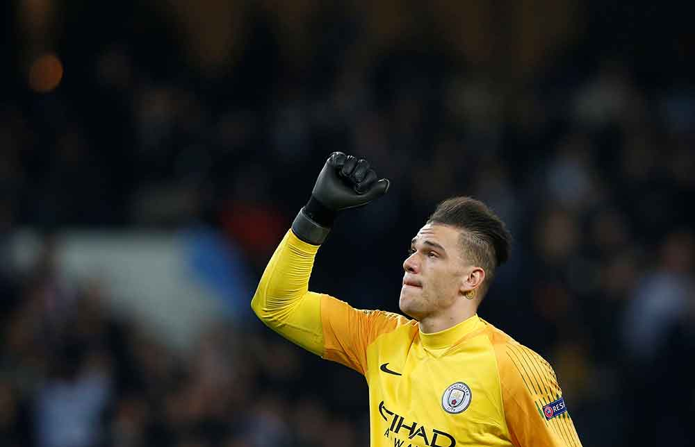 'Found Our Silva Replacement' 'My Goalkeeper' City Fans React As Ederson Plays In Midfield (And Scores Twice) In Charity Game